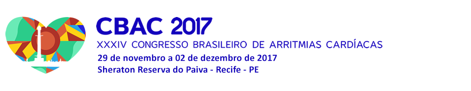 XXXIV Congresso Brasileiro de Arritmias Cardíacas