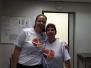 Ação no Hospital das Clínicas da UniCamp, Campinas (SP)