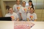 Coração na Batida Certa - equipe com camisetas