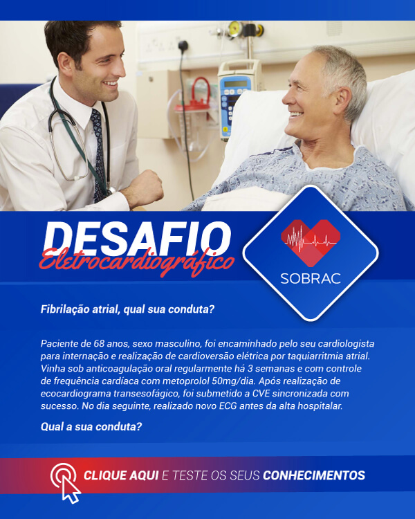 SOBRAC: Desafio Eletrocardiográfico - Junho