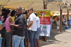 Campanha– Salvador – BA - Centro de Referência de Doenças Cardiovasculares e no Largo das Baianas – Amaralina