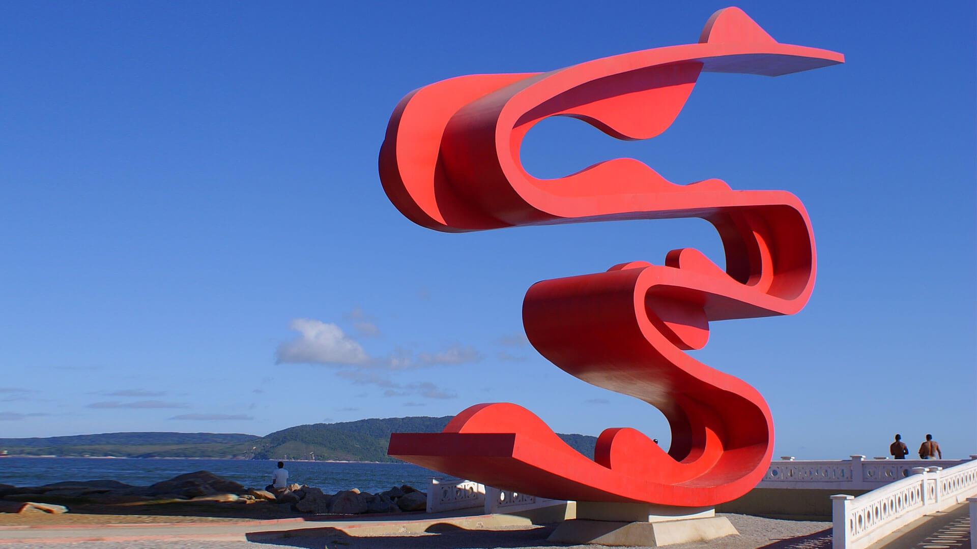 Escultura-Tomie-Ohtake